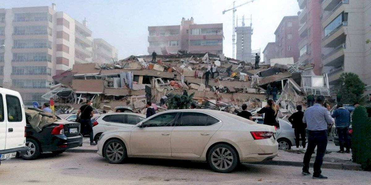 AHORA: terremoto de 7,0 remece a Grecia y Turquía: hay edificios caídos