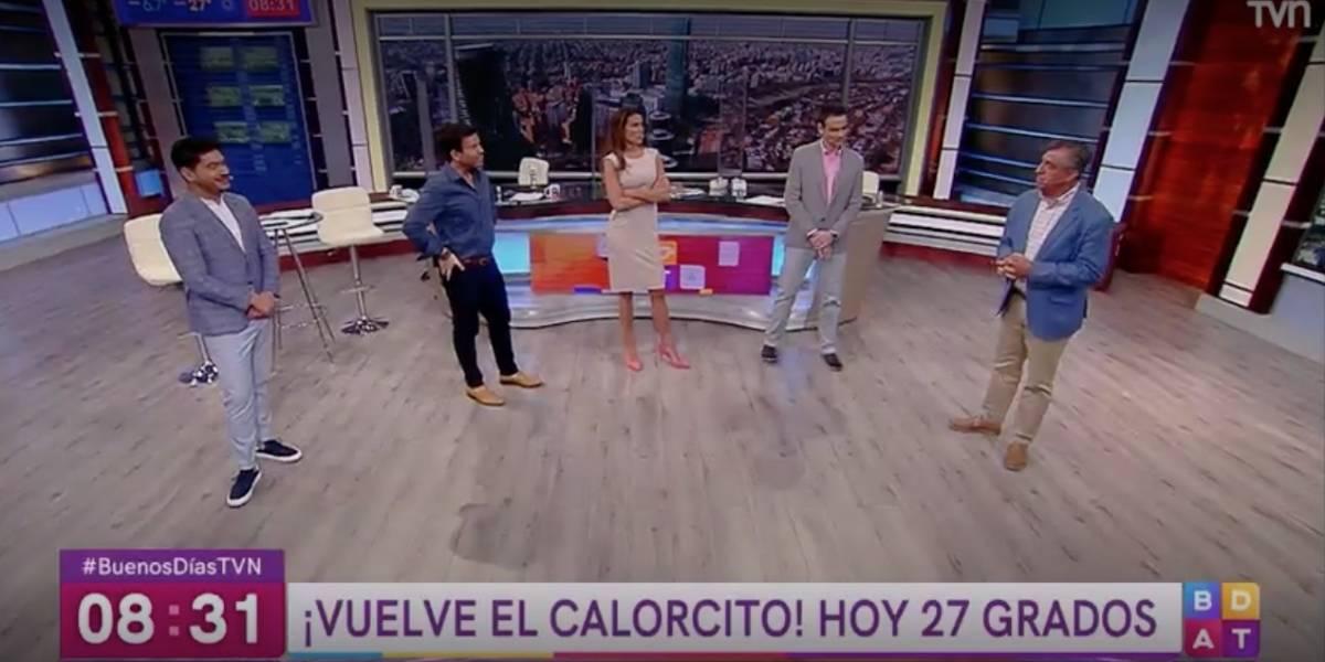 """Remezón en """"Buenos días a todos"""": Nacho Gutiérrez sale de pantalla"""