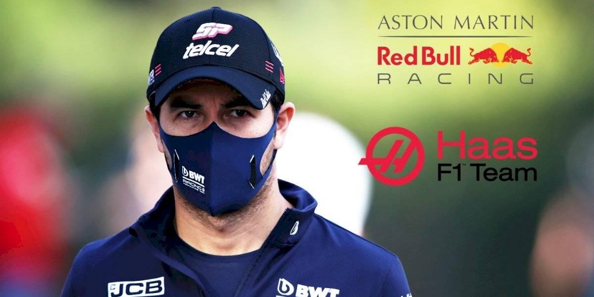 Se reducen las opciones para Checo Pérez en F1: Red Bull o Haas