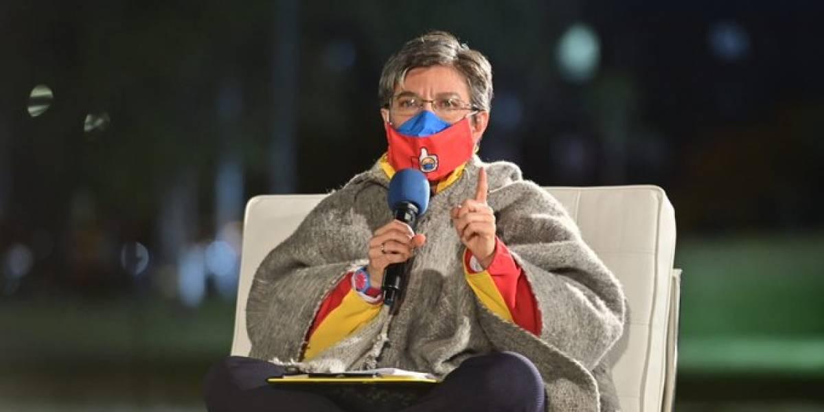 """Exiliados venezolanos declaran a Claudia López """"persona non grata"""""""