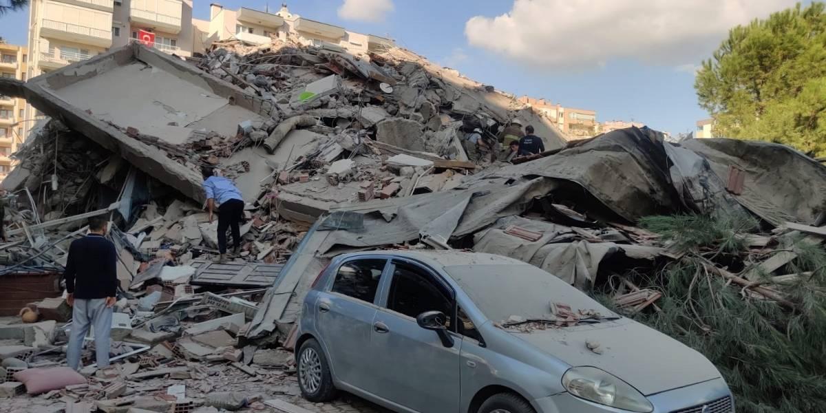 Impactantes imágenes del terremoto de 7.0 que sacudió Grecia y Turquía