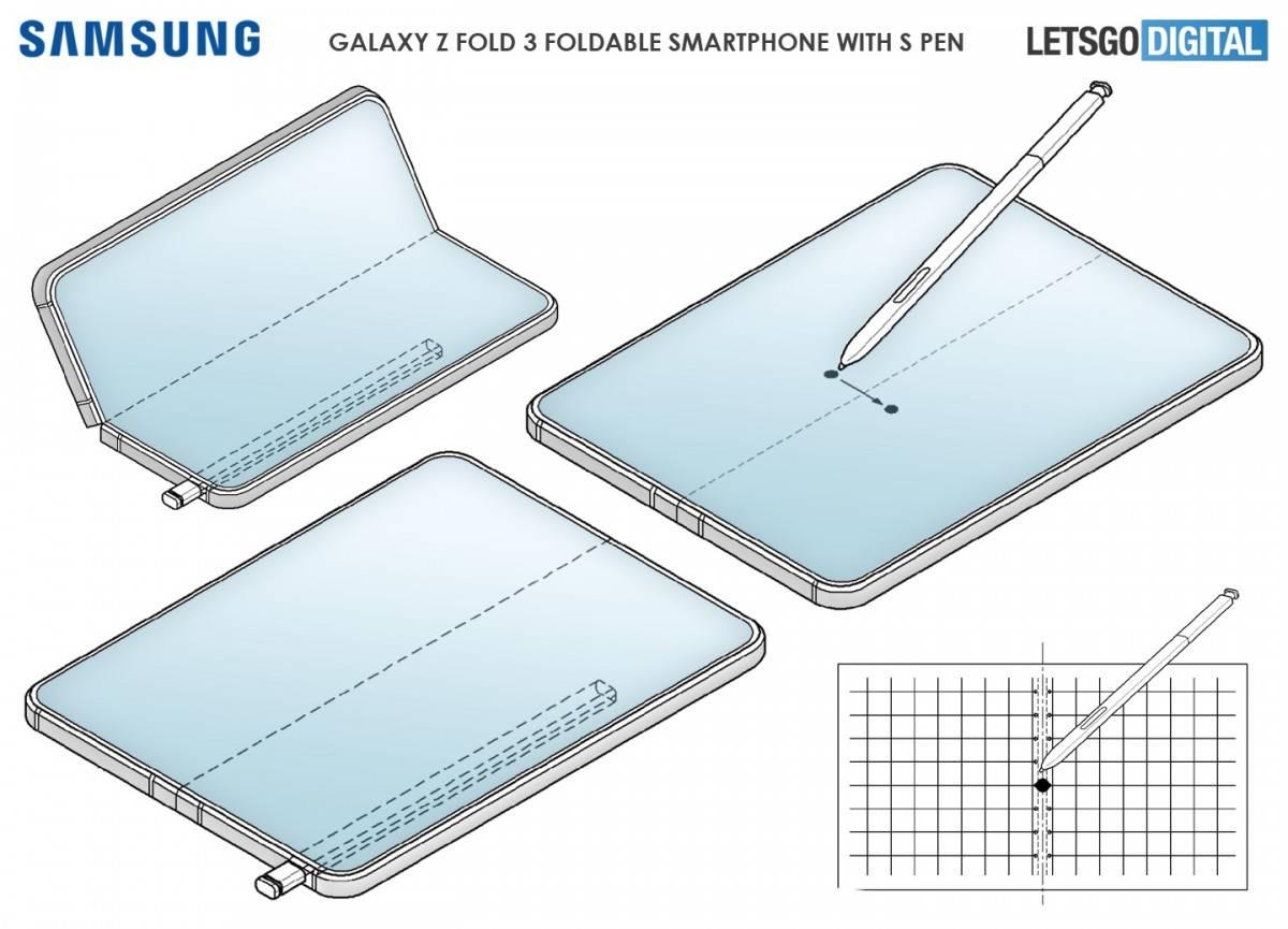 z fold3 patente