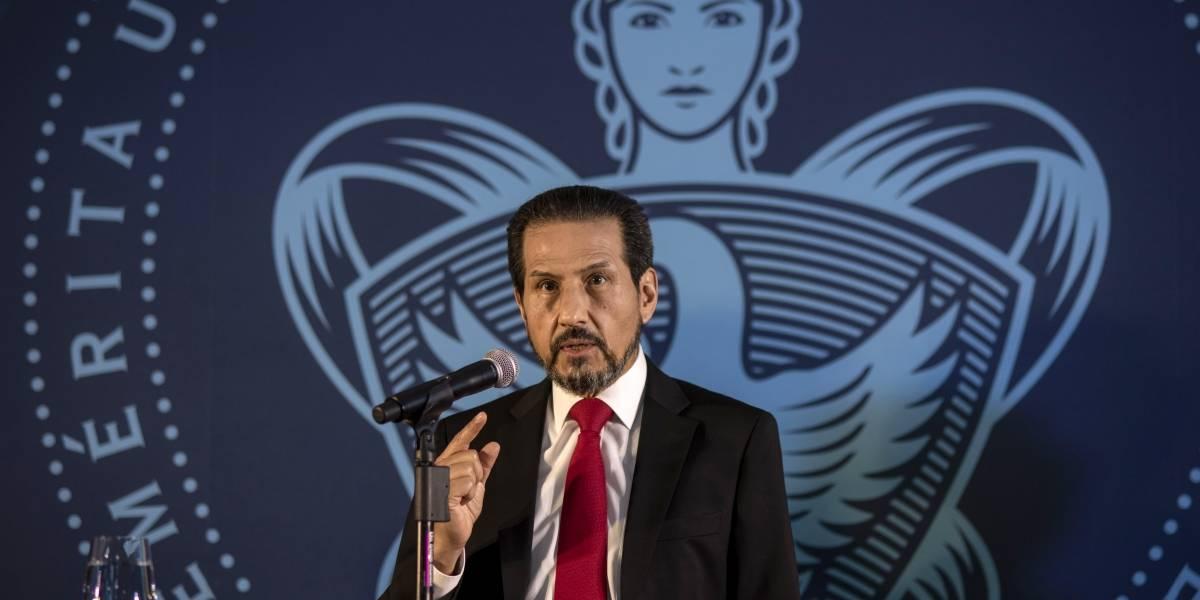 Consejo universitario respalda al rector Esparza