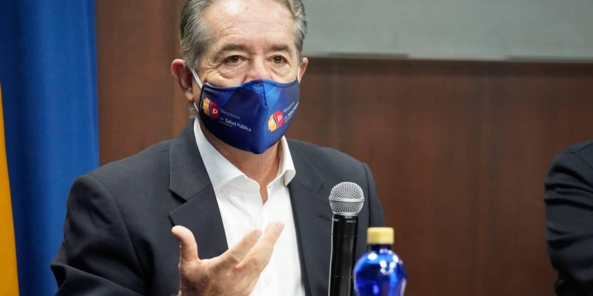 """Ministro Zevallos sobre vacuna del COVID-19 en Ecuador: """"Todo ecuatoriano que la necesite la va a recibir"""""""