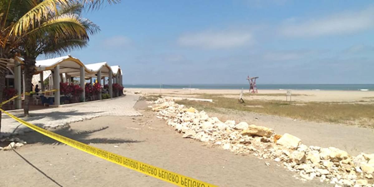 Guayaquil no tendrá playa en el feriado: COE ordena cerrar Playa Varadero del 31 de octubre al 2 de noviembre