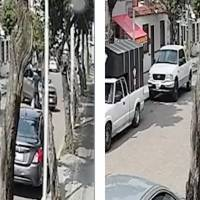 Camioneta arrolla a joven que paseaba a su perro