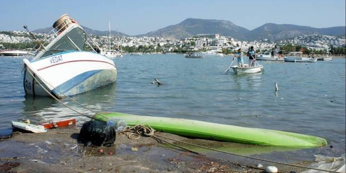 VIDEOS: Tras terremoto en Turquía, se registró un pequeño tsunami