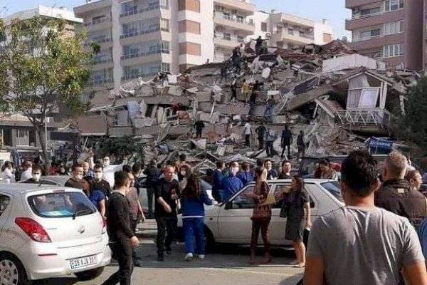 Terremoto en Turquía: los impactantes derrumbes que dejaron ciudades bajo escombros