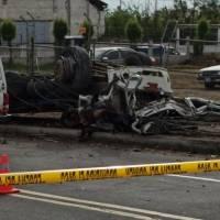 Trágico accidente de tránsito en Ambato deja cuatro fallecidos