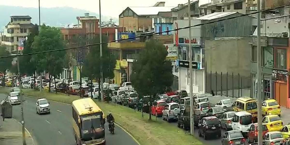 Una persona murió y dos resultaron heridas en un accidente en la av. Mariscal Sucre