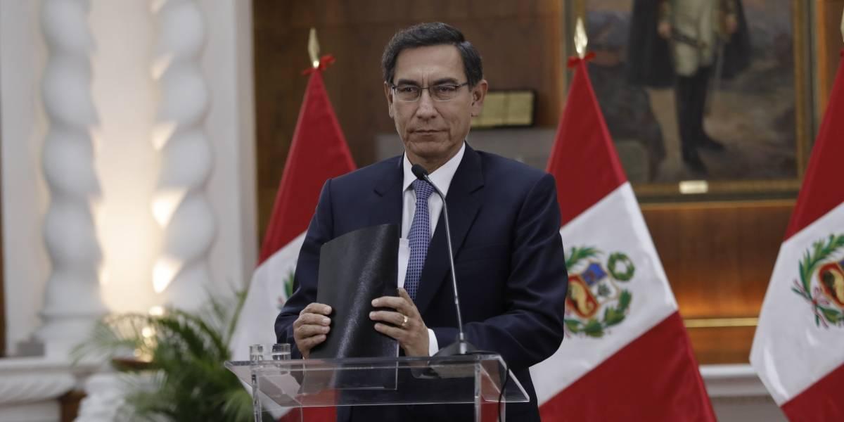 Perú.- El Congreso de Perú debatirá el 2 de noviembre la moción de censura contra el presidente Martín Vizcarra