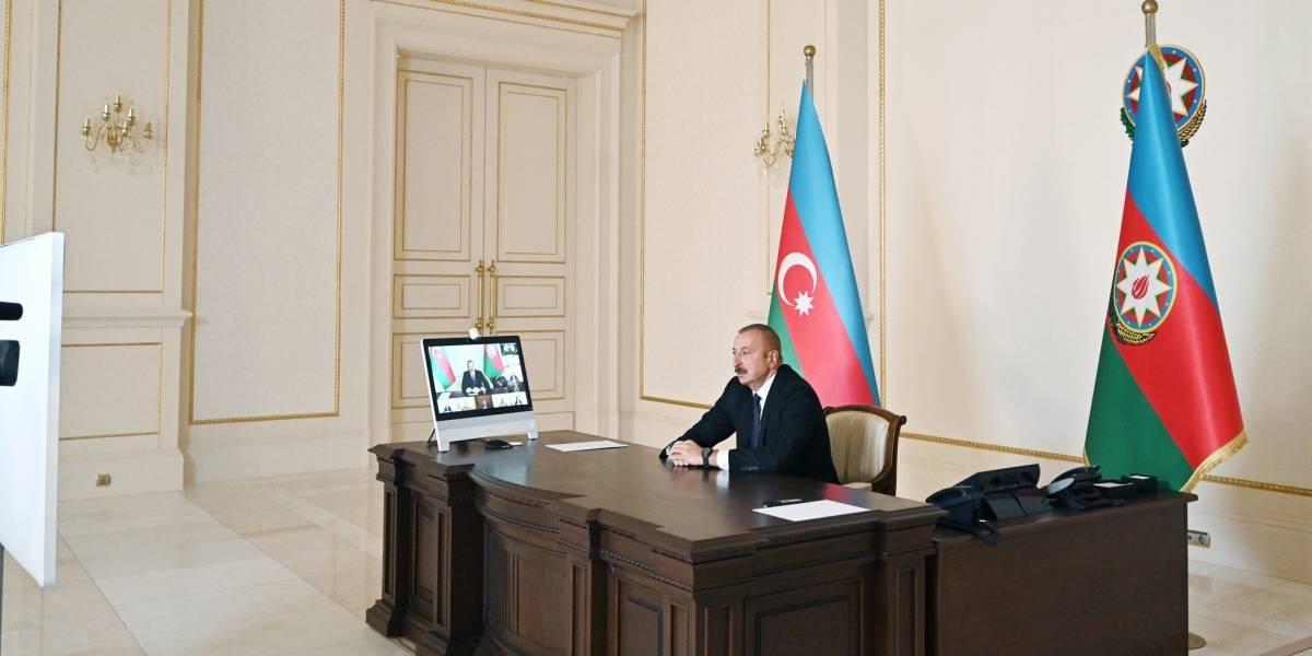 Armenia/Azerbaiyán.- El presidente azerí asegura que el final de los combates en Nagorno Karabaj depende de Armenia