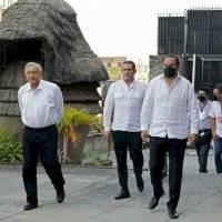 """""""No van a volver a establecer gobiernos corruptos"""", dice AMLO a Frena"""