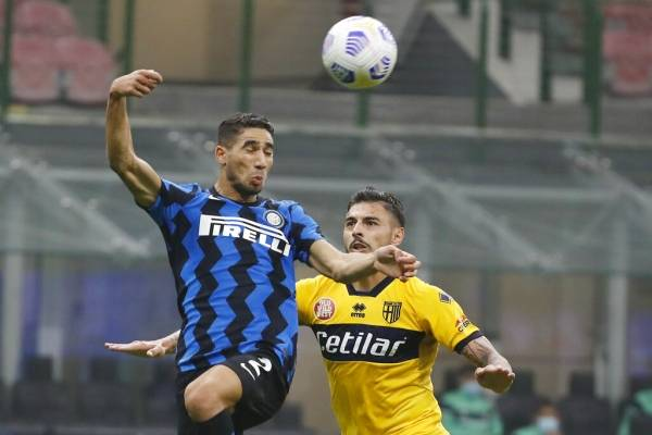 Casi se le agrió la leche al Inter: salvó un empate agónico con Parma