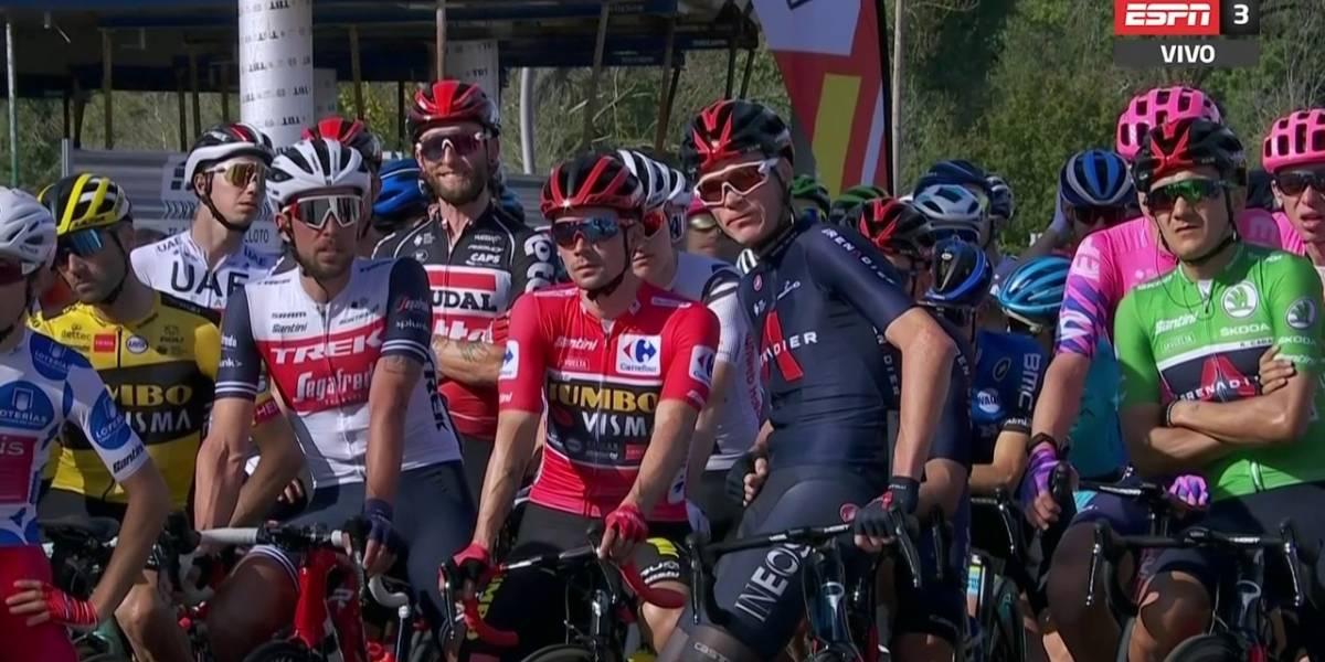 Vuelta a España: ¿Richard Carapaz debía vestir el maillot rojo? Esto reclamó el mejor ciclista del mundo