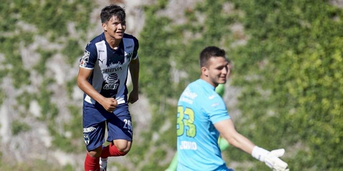 VIDEO: Sebastián Jurado comete terrible error contra Monterrey en la Sub-20