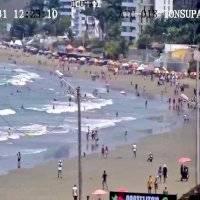 Feriado: así lucen las playas del Ecuador en el primer día de asueto