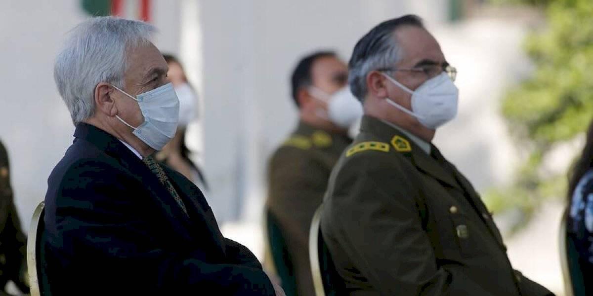 """Piñera asiste a misa por carabinero muerto: """"Este crimen no va a quedar impune, los cobardes asesinos van a ser encontrados"""""""