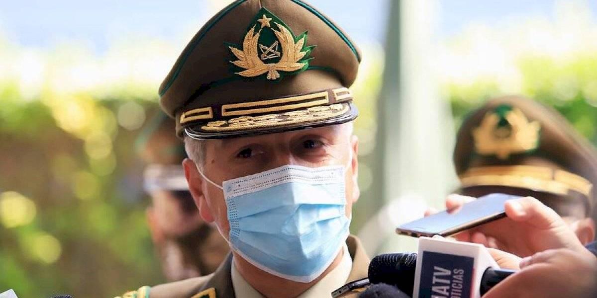 """General Rozas en funeral de carabinero asesinado: """"Este hecho no va a quedar así"""""""