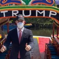Organizan caravana a favor de Trump en la CDMX