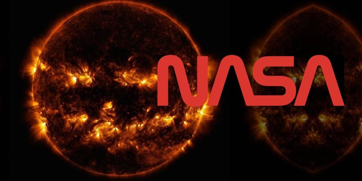 NASA celebra Halloween con una perturbadora fotografía del sol