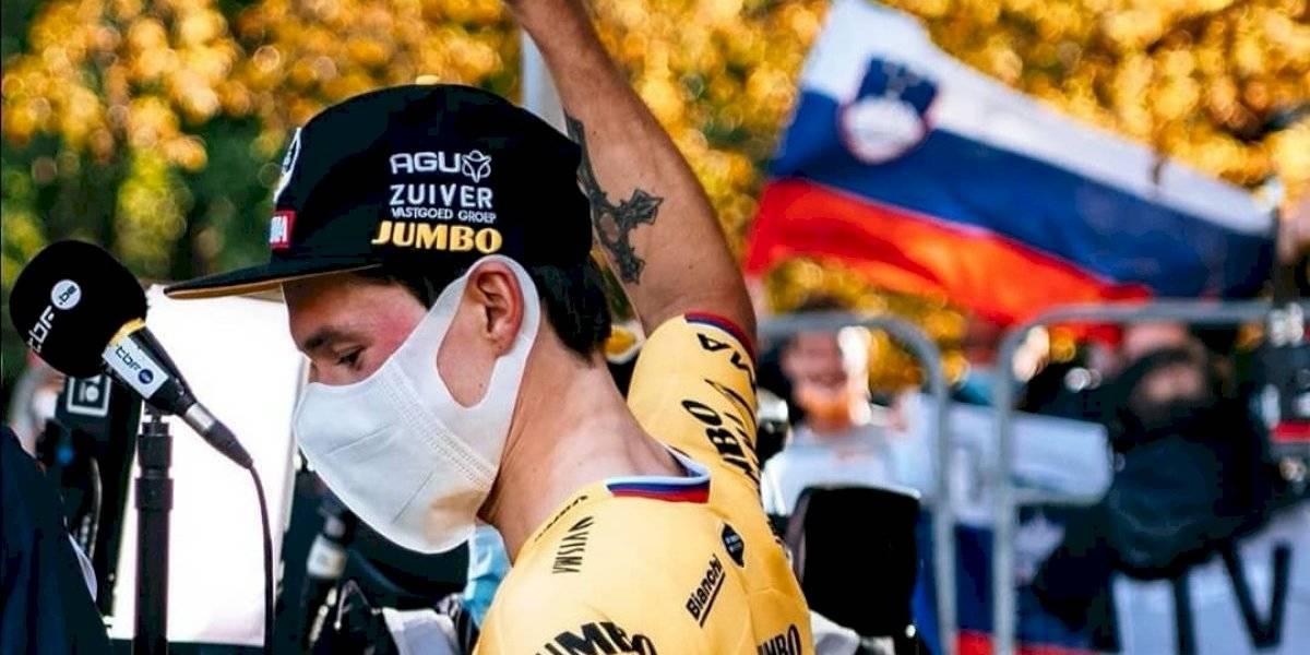 Vuelta a España: la reacción de Primoz Roglic tras el liderato de Carapaz