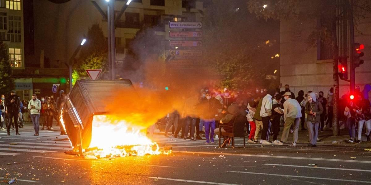 Las protestas contra las medidas anticovid dejan casi 60 detenidos en España
