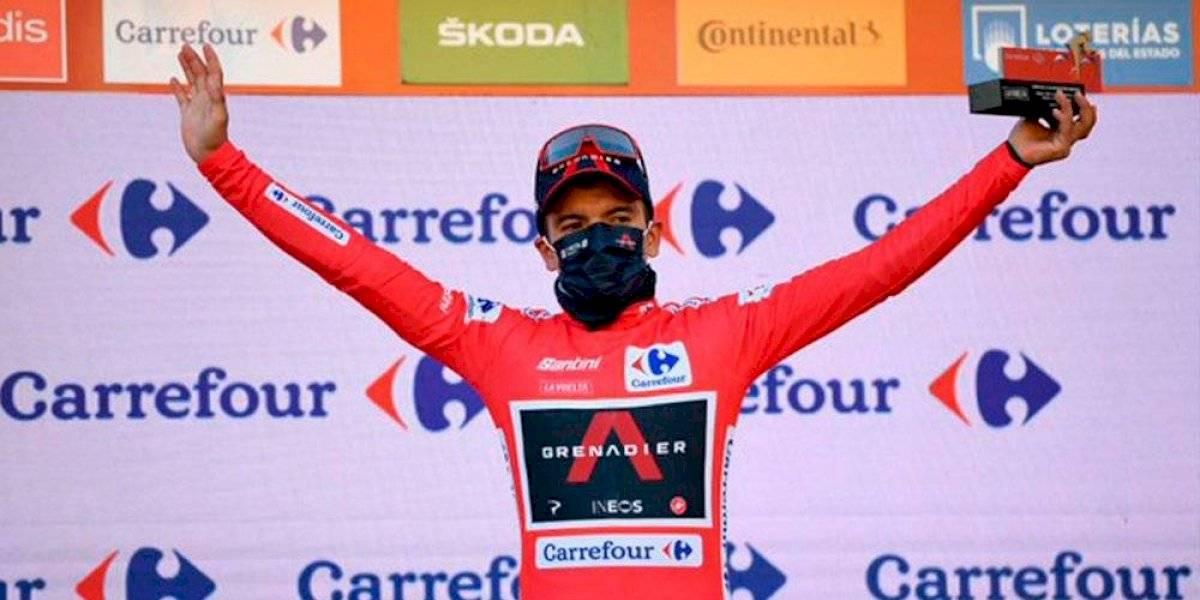 Vuelta a España: así fue el último kilómetro donde Richard Carapaz recuperó el maillot rojo