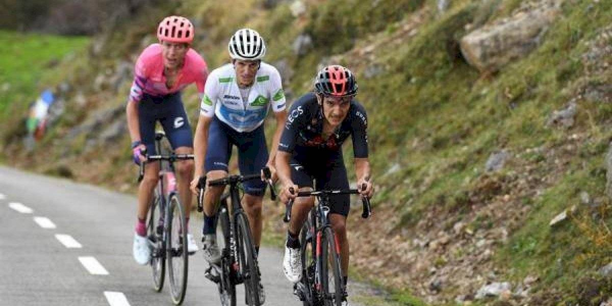 Vuelta a España: las contundentes declaraciones de Richard Carapaz tras recuperar el maillot rojo