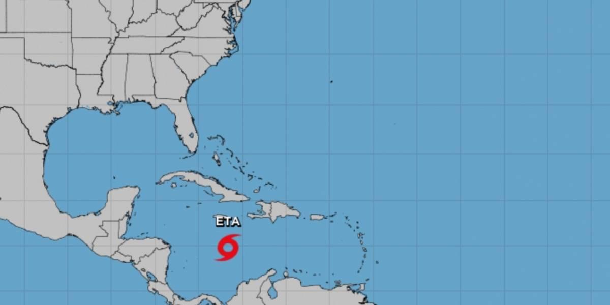 La tormenta Eta gana fuerza y podría llegar a huracán