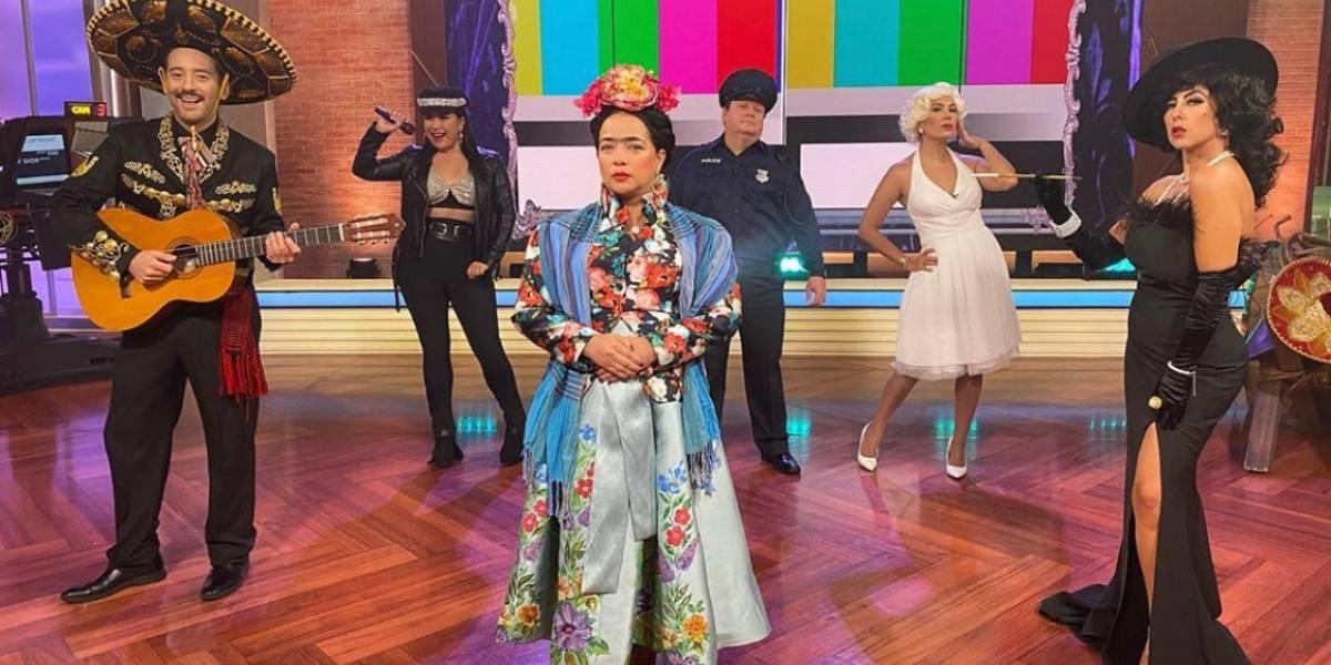 Adamari López cautiva a todos con su disfraz de la pintora mexicana, Frida Khalo