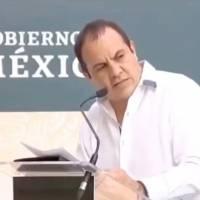 ¡No dio una! Critican a Cuauhtémoc Blanco por no saber leer un discurso a AMLO