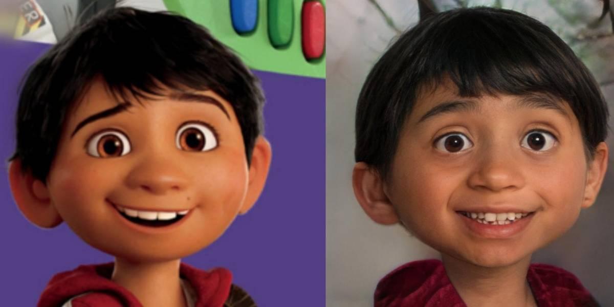 Artista da vida a los personajes de Pixar con Inteligencia Artificial