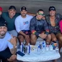 Junte entre Chayanne, Daddy Yankee, Luis Fonsi y Nicky Jam se vuelve viral