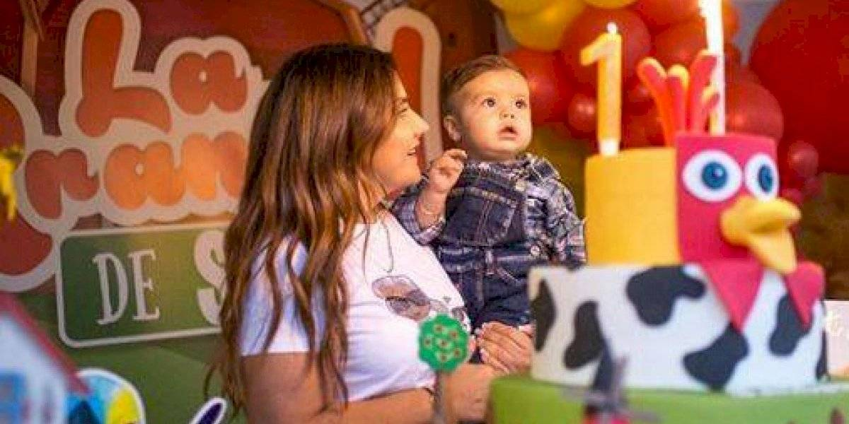 La impresionante fiesta con la que James Rodríguez le celebró el cumpleaños a su hijo Samuel