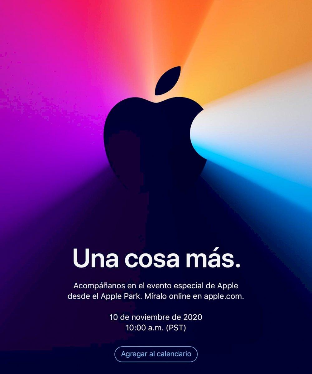 apple invitacion