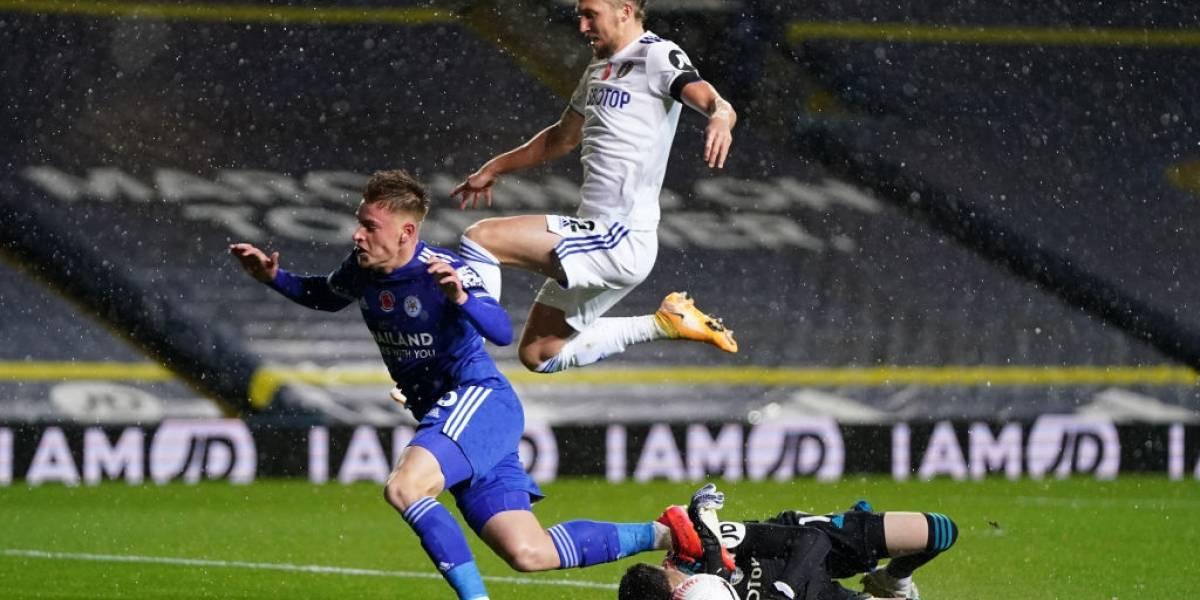 El Leicester goleó al Leeds de Bielsa