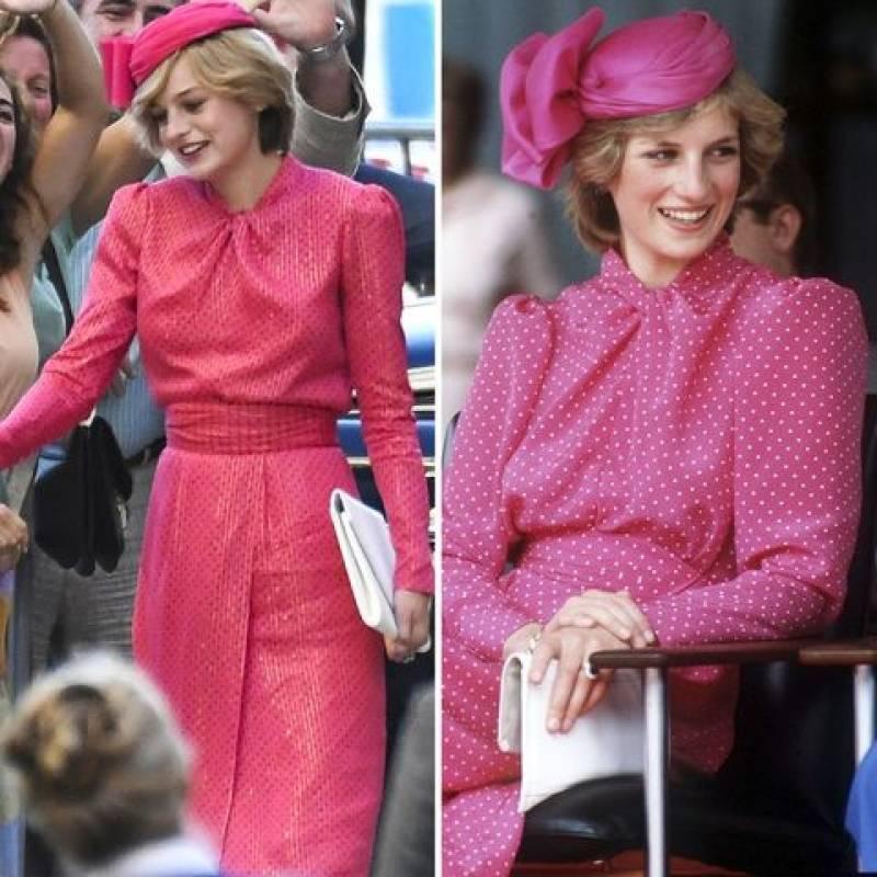 diana nueva zelanda vestido rosado