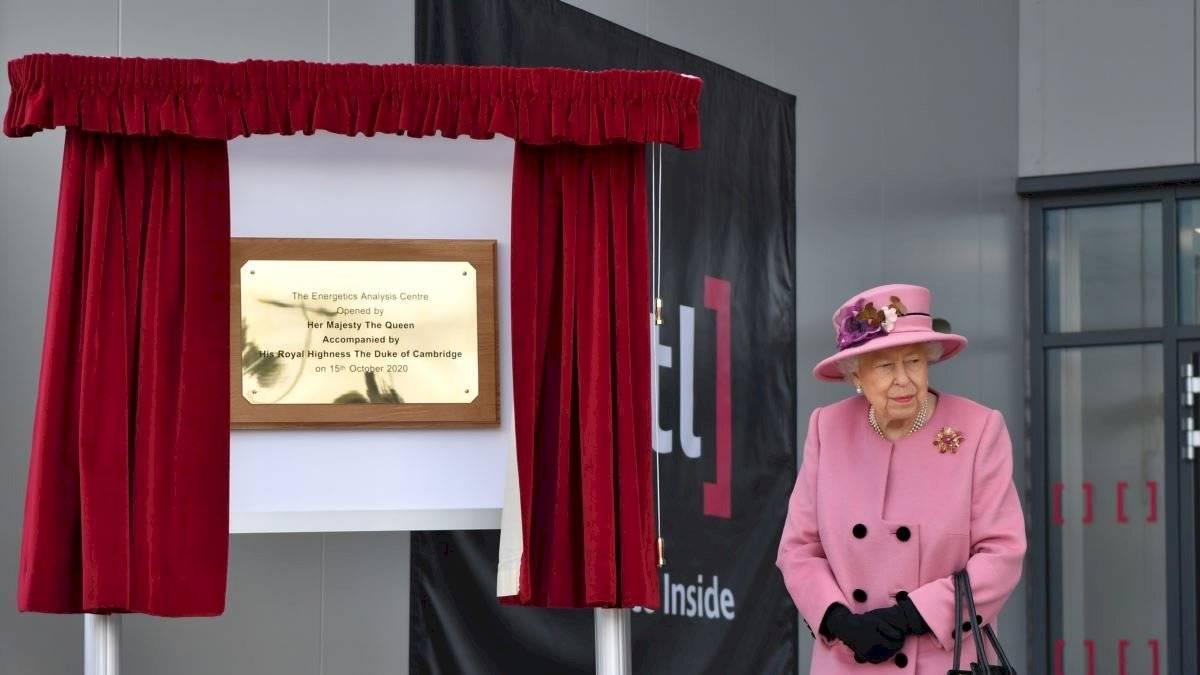 La última aparición pública de la reina Isabel fue en octubre pasado.