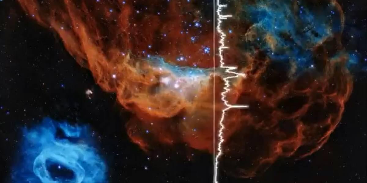Los sonidos de la NASA: la agencia espacial ha ido publicando una 'lista de reproducción' de como se escuchan varios eventos del universo