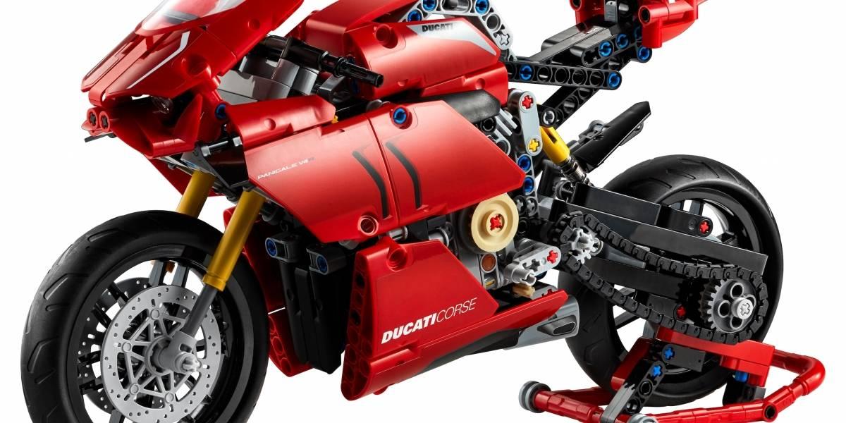 Lego Technic estrena una muy realista Ducati