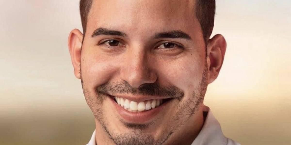 Christian Cortés se presenta con ventaja en la contienda a la alcaldía de Aguada