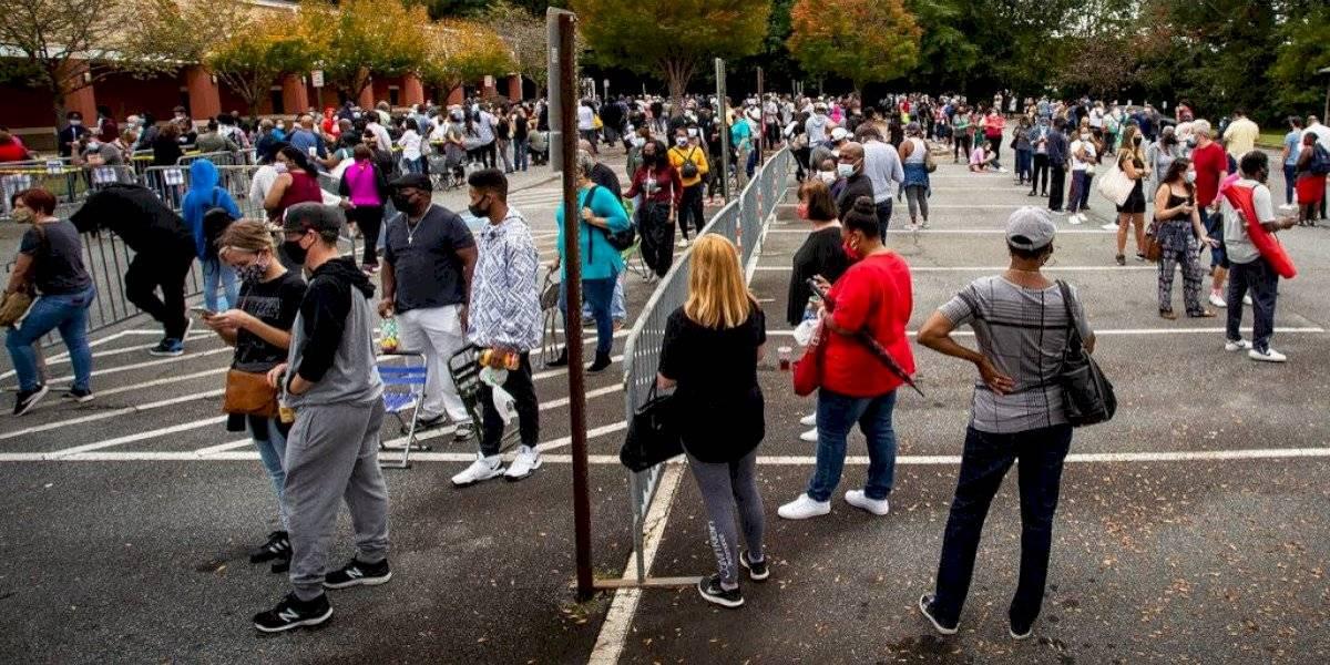 Pese a la pandemia, Estados Unidos espera una gran participación en las elecciones