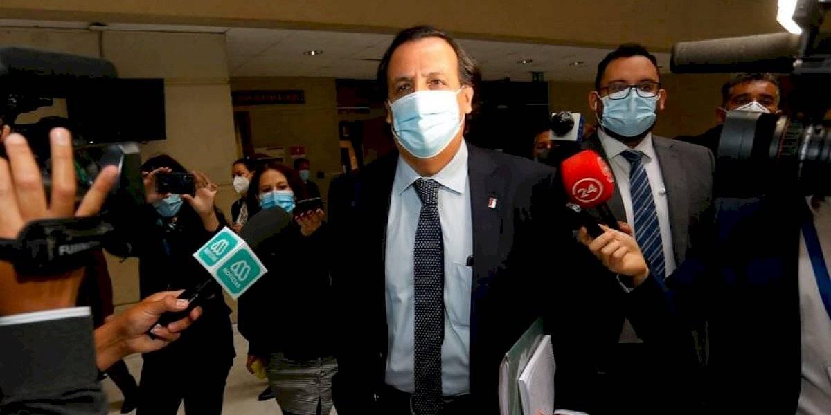 """Víctor Pérez en su llegada al Congreso: """"Me he sentido acompañado en momentos que son muy duros"""""""
