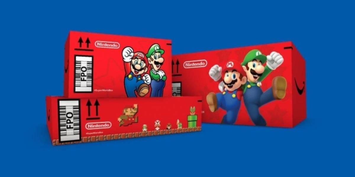 Amazon está realizando entregas en cajas de Super Mario Bros.: ¿cómo las obtienes?