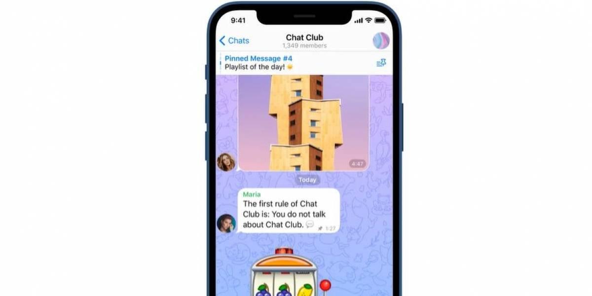 Telegram: Así puedes fijar múltiples mensajes en un chat