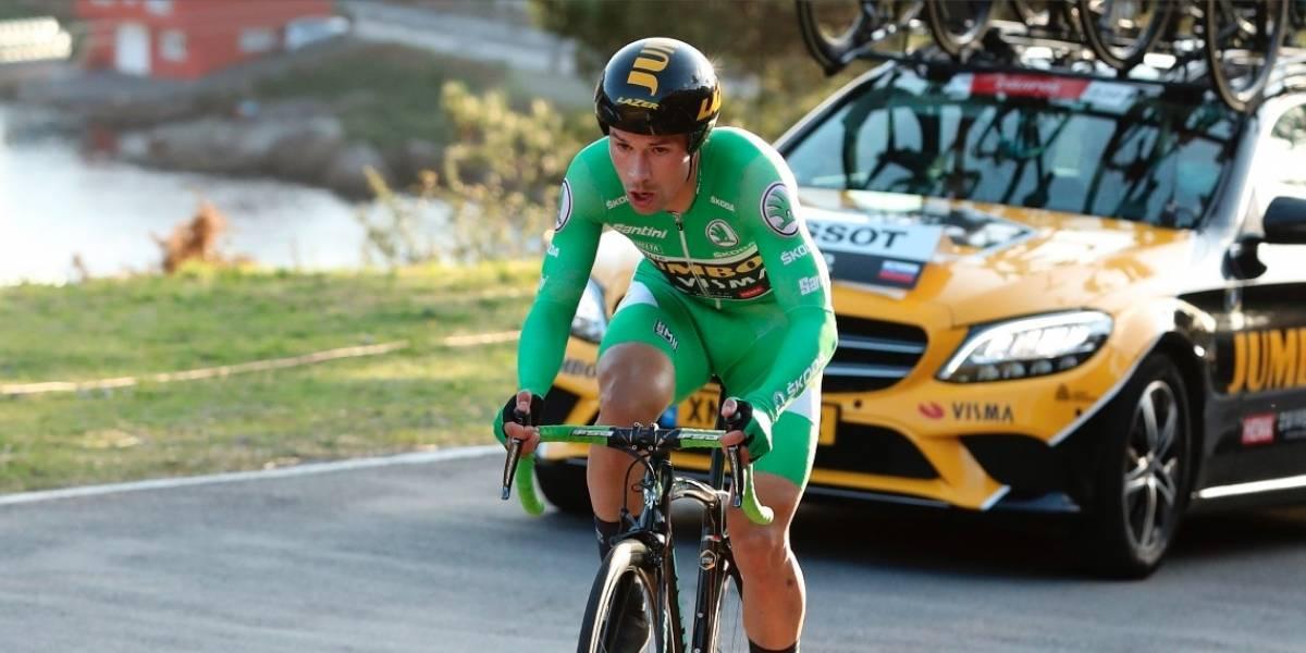 """""""Mejor estar 39 segundos por delante que por detrás"""": Primo Roglic tras despojar el liderato a Richard Carapaz"""