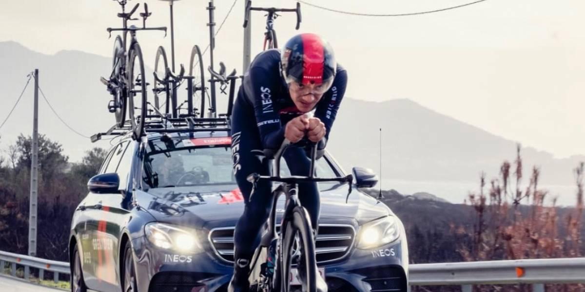 """""""Vamos a por la contrarreloj"""": Richard Carapaz, convencido de hacerlo bien en la etapa 13 de la Vuelta de España"""