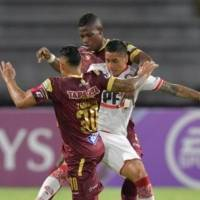 Video: Resumen y goles de Tolima VS Unión La Calera por Copa Sudamericana 2020 (1-1, global 1-1*)