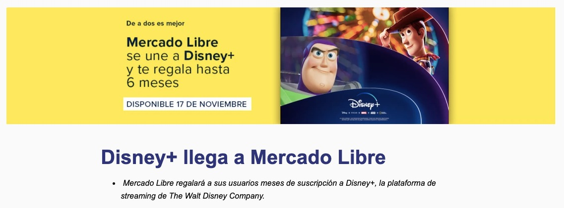 Disney+ México paquetes